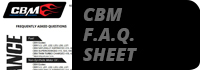 cbm motorsports frequntly asked questions