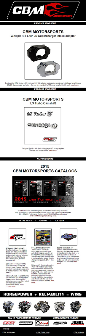 cbm news april 2015