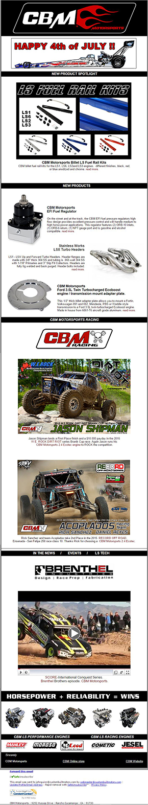 cbm news july 2015